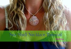 Shell Necklace Tutorial