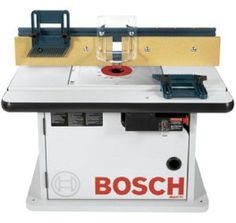 Bosch Benchtop Router Wood Table Cabinet Const.saw Fence Gaurd Ajustable Gauge