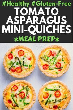 These Healthy, Vegetarian Small Quiches are made with an almond flour crust, making them gluten-free, low-carb, keto and. Vegetarian Quiche, Vegetarian Recipes, Keto Recipes, Mini Quiches, Baked Avocado, Low Carb Appetizers, Keto Friendly Desserts, Dairy Free Options, Healthy Comfort Food