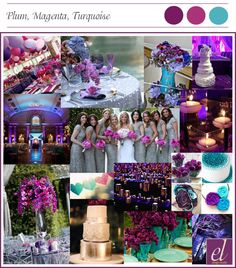 Events Luxe's mood board created for Tara and Spencer at the start of the design process.