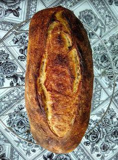 Le Garb: Pão sem sovar por Gabriel Marcos Pizza Tradicional, Calzone, Banana Bread, Low Carb, Cake, Desserts, Fruit Ideas, Fruit Jam, Simple Recipes