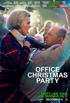 OFFICE CHRISTMAS PARTY movie poster No.3