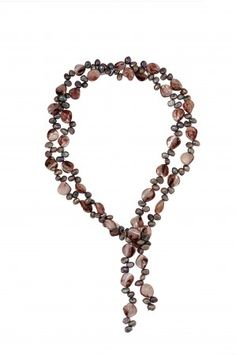 Freshwater Pearl with Shells Necklace at saintchristine.com