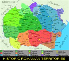 Imagem relacionada Romania Map, Constanta Romania, Tumblr Cartoon, Republica Moldova, Thing 1, Historical Maps, History Facts, Bulgaria, Hungary