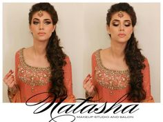 Natasha Salon makeup! so pretty! She's a genius !