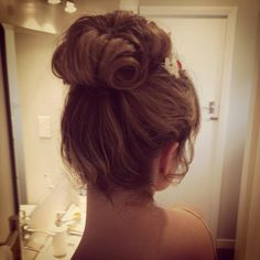 styled hair styled vintage updo braided updo my style forward a ...