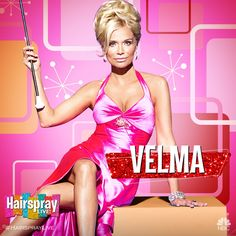 (20) Hairspray Live! (@HairsprayLive) | Twitter 07Dec16 - We're honored to have @KChenoweth as #HairsprayLive's Velma Von Tussle!