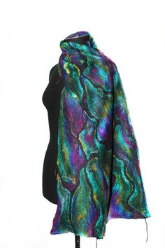 Felted Scarf Scarves by FeltedPleasure