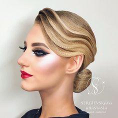 "1,155 Likes, 6 Comments - Sergievskaya Anastasia (@sergievskaya_stylist) on Instagram: ""• @liza_boykina ✨✨✨ • HAIRSTYLE & MAKEUP by @sergievskaya_stylist • WHATSAPP +79263365637…"""