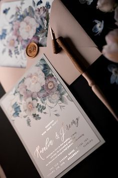 WEDDING INVITATIONS watercolor 11/NOKal/z