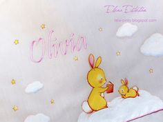 @todo color: Sábanas para Olivia Tweety, Winnie The Pooh, Disney Characters, Fictional Characters, Ideas, Diapers, Rabbits, Paintings, Colors