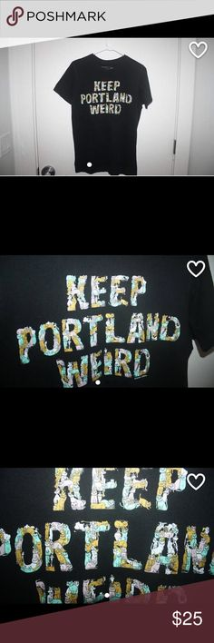 Keep Portland weird t-shirt Extremely soft t-shirt! Super cute with kittens all on top of each other. Love it! Unisex, fits as a medium! new standard clothing Tops Tees - Short Sleeve