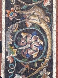 Image result for Roman Mosaics Made with Color From Berries