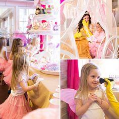 Princess dress up party at The Princess Shop