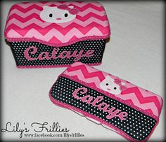 wipe cases from Lily's Frillies  www.facebook.com/lilysfrillies