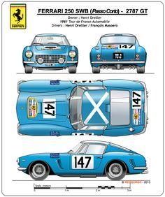 1961 FERRARI 250 GT Short Wheel Base