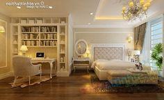 Thiết kế nội thất chung cư cổ điển nhà anh Dương .. AVALO ..
