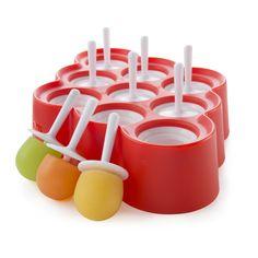 Zoku's Slow-Pop Mini Pop Molds let you prepare nine Mini Pops in your freezer, the old-fashioned way. @Zoku