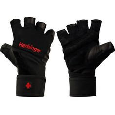 Harbinger 140 Ventilated Pro Wristwrap Weight Lifting Gloves - Stay Cool While At The Gym With Harbinger 140 New Style Pro Wristwrap Weight Lifting Gloves They Feature Ventilated Palms That Release Heat To Gym Gloves, Workout Gloves, Mens Gloves, Weight Lifting Gloves, Ankle Weights, Weight Benches, Anytime Fitness, Casual Chic Style, Fitness Tracker