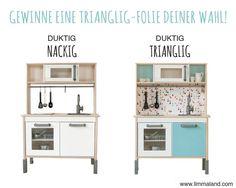 Gewinnspiel Deko-Klebefolie für die IKEA DUKTIG Kinderküche - www.limmaland.com