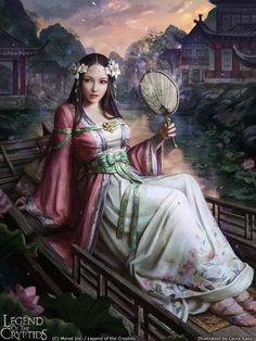 ArtStation - Legend of the Cryptids - Huifang, Laura Sava