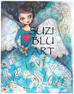 The unique and amazing Suzi Blu