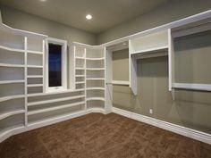 How To Build Large Closet Shelves