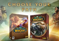Get a free starter kit from World of Warcraft!