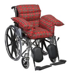 <li>Comfortable pillow cushion is ideal for chairs and wheelchairs in need of extra padding<li>Mabis Healthcare pad molds to your body's contours to help prevent painful pressure sores<li>Pillow cushion is a great addition to your bedding or seating
