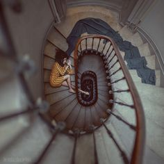 stair romance by anka zhuravleva - Fine Photography by Anka Zhuravleva