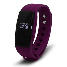 uxcell Outdoor Sport Smartband bluetooth 4.0 Heart Rate Monitor Actively Fitness Tracker Sleep Smart Bracelet Purple. When user's heart, there will be more blood run through user's wrist, the green light absorption will increase. Researching and Developing Team have effective monitored and extracted heart rate signal based on developed. Track daily activities data such as,steps, distance, calories burnt, help you reach daily fitness goal. Working Time: Over 7 days; Charging Type: 3 Pins…