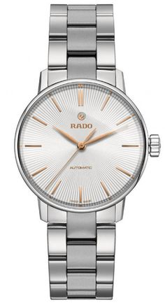 Rado Watch Coupole Classic Sm #add-content #bezel-fixed #bracelet-strap-steel #brand-rado #case-material-steel #case-width-32mm #delivery-timescale-call-us #dial-colour-silver #gender-ladies #luxury #movement-automatic #official-stockist-for-rado-watches #packaging-rado-watch-packaging #style-dress #subcat-coupole #supplier-model-no-r22862023 #warranty-rado-official-2-year-guarantee #water-resistant-50m