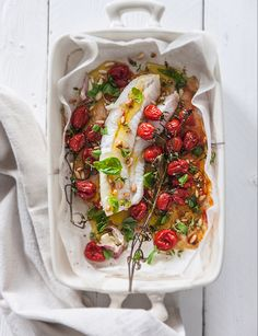 Seafood Dishes, Fish And Seafood, Daily Meals, Bruschetta, Baby Food Recipes, Good Food, Food And Drink, Cooking, Ethnic Recipes