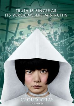 Cloud Atlas-Amazing film that one can see over and over to understand something new each time    Cloud Atlas. Soonmi 451.