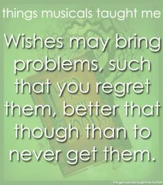 Things Musicals Taught Me - Into the Woods
