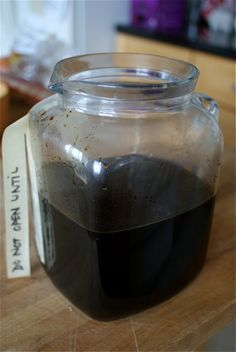 Oh yes. Home made coffee liquer. I think I need to do this.