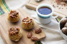 Sticky bun muffins have the nutty caramel flavor you're craving, with less work. They're perfect for a weekend breakfast!