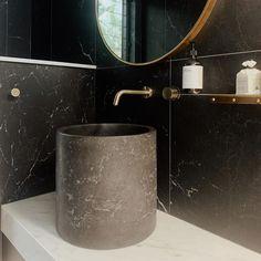 1200x600 Matt Rectified Black Marble Look Glazed Porcelain Tile Marble Look Tile, Black Marble, Tile Installation, Travertine, Porcelain Tile, Sink, Interior, Design, Sink Tops