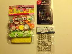 #ScrapbookEmbellishments #WholesaleLot Assorted Paper Craft And Scrapbook Embellishments Wholesale Lot New Unused P-7 #Assorted