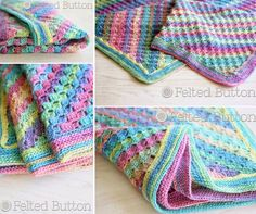 Spring Into Summer Crochet Blanket Easy Free Pattern