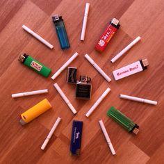 Mándalas encendedores, cigarros y Sipo