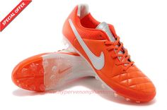 Mens AG Nike Tiempo Legend Elite Orange/White