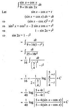 RBSE Solutions for Class 12 Maths Integration Miscellaneous Exercise Class 12 Maths, 12th Maths, Maths Formulas List, Calculus, Algebra, Math Tutorials, Maths Solutions, Engineering Science, Math Vocabulary