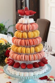 10 Tier Macaron Display Stand for french macarons