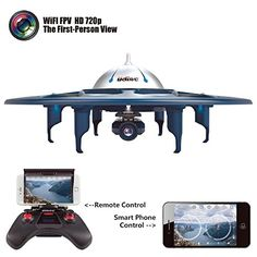 Cytek UDI RC Drone WiFi FPV UFO RC Drone with HD Camera iOS Android Phone Control 6 Axis Gyro RTF Quadcopter with Low Voltage Alarm Gravity Induction and VR Split mode >>> Check this awesome product by going to the link at the image. Picture Storage, Camera Photos, Drone With Hd Camera, Android Wifi, Vr Box, Drone For Sale, Usb, Remote Control Cars, Drone Quadcopter