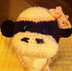 Sock monkey for a little girl $ 22.50