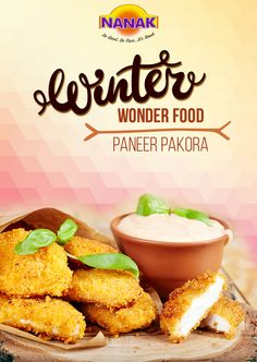 Winters call for hot, delicious Paneer Pakoras. Don't you agree? #Yummy #Delicious #Tasty #Snacks #Yum #Winter #Holiday #Season