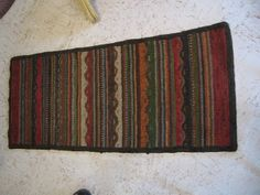 Country Freckles: WIDE TORN RUG CLASS