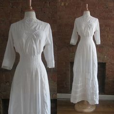 Antique Edwardian Tea Dress by GildedGypsies