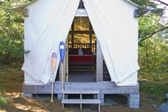 Looks like the tent we stayed in at Yosemite!